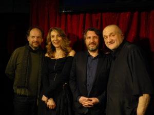 Avec Denis et Bruno Podalydès