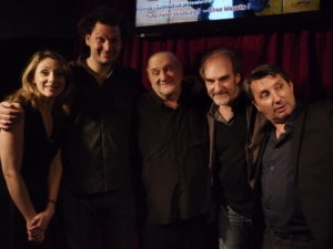 avec Eric Antoine, Michel Vuillermoz et Bruno Podalydès