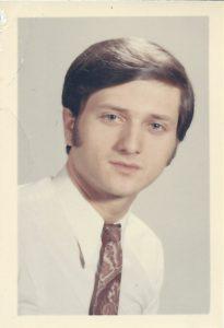 Là c'est moi, vers l'âge de 16 ans !