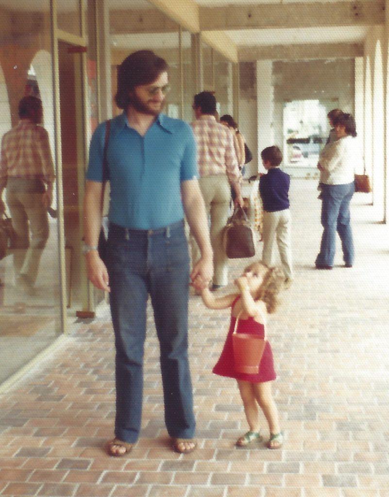 Alexandra et Dominique DUVIVIER 1975
